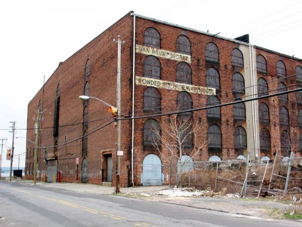 Red Hook Stores, the Civil War-era warehouse at 480-500 Brunt Street, now home to Fairway Market
